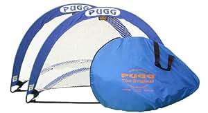 Pugg Pop Up Fussballtore, 1 Paar mehrfarbig blau / weiß 4 Ft