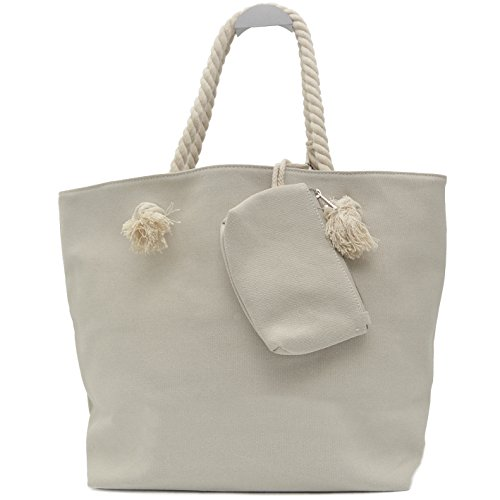 Vani Segreti Star Shopper Ladies Borsette Marine Look Beige