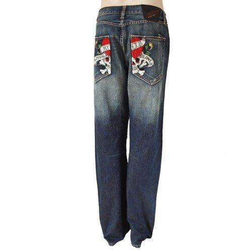 Ed Hardy -  Jeans  - Uomo blu
