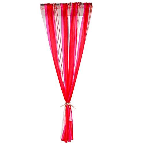 Yunyoud tende corta verticali colorate, tende singole, tende da soggiorno moderne tende da parete 130x107 cm, canne da indossare, zanzariere, divisori