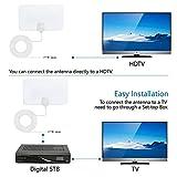 SLB Works 100 Mile Range Antenna TV Digital HD Skylink 4K Indoor HDTV