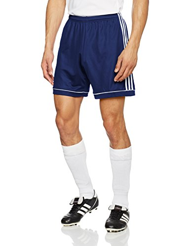 adidas Herren Squad 17 Shorts, Dark Blue/White, XL