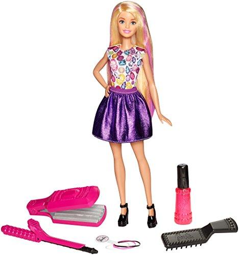 Mattel Barbie DWK49 - Wellen und Lockenspaß Spielset