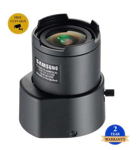 SS423 - SAMSUNG SLA-2812DN CCTV KAMERA LENS 2.8 ~ 12mm CS-MOUNT AUTO IRIS DC Vario-DRIVE 410K Pixel Auflösung MANUAL FOCUS & ZOOM -