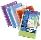 Elba 100211078 Polyvision Porte-documents A4 Bleu/Rose/Violet/Vert