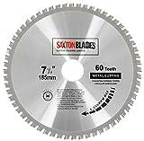Tct18560tmb Saxton TCT circulaire en acier en aluminium cuivre Métal Lame de scie...