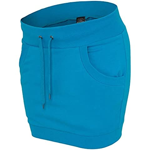 Ladies French Terry Skirt turquoise