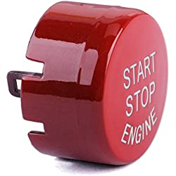 CITALL Red Start Stop Engine Button Push Switch Replace Cover