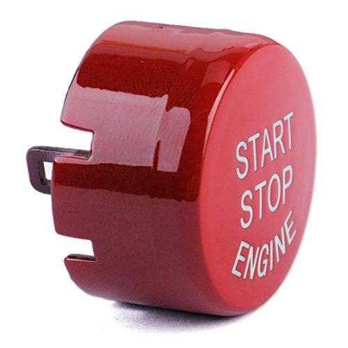 CITALL Red Start Stop Bouton du Moteur Bouton-Poussoir Remplacer Le Couvercle