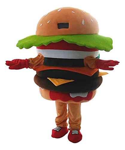 hamburger kostüm Unisex erwachsene größe Lust party - (Hamburger Kostüme Erwachsene Für)