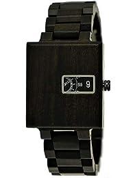 Holzwerk Germany® Matrix Reloj de Pulsera analógico para Hombre con Mecanismo de Cuarzo y Correa