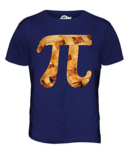 CandyMix Kreiszahl Pi Oder Kuchen Herren T Shirt Navy Blau