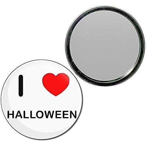 I Love Halloween - 55 millimetri specchio