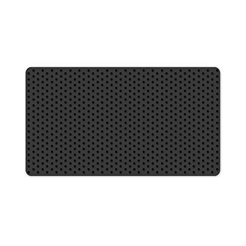 Preisvergleich Produktbild XFAY Große Rutschfeste Auto Armaturenbrett Silikon Auflage Halter KFZ Pad Antislip Matte Antirutschmatte Für Telefon/ Gps/ Mp4/ Mp3 - schwarz Größe27cm*15cm