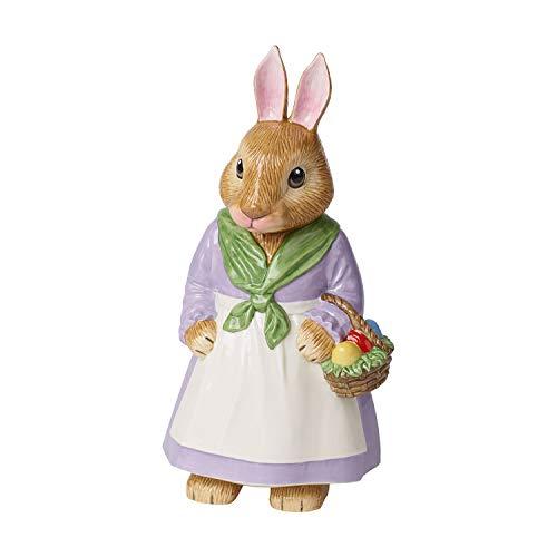 Emma Akzent (Villeroy & Boch Bunny Tales Große Porzellanfigur Mama Emma, Porzellan, Bunt)