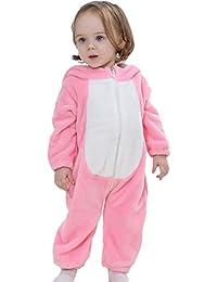 Y-BOA Pyjama Ensemble de Pyjama Dors Bien Enfant Bébé Combinaison Hiver Forme Animal Déguisement