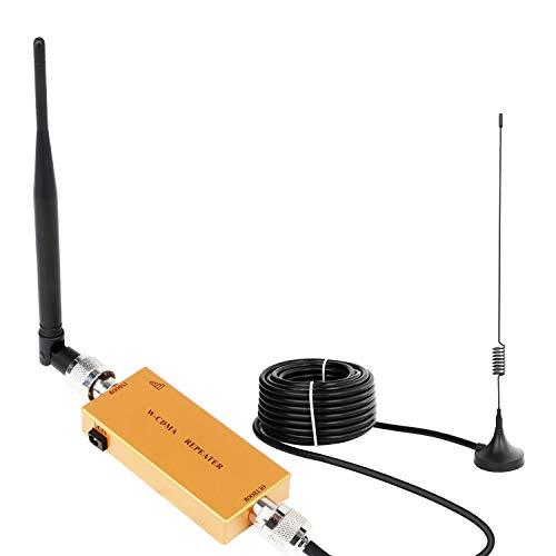 Handy Signalverstärker Verstärker 3G 2100 MHz WCDMA Verstärker Telefon für Ladegeräte 2G 3G Repeater GSM Verstärker Sprachanruf und Daten für Multi Mobile Netzwerkanbieter