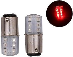 EASY4BUY 12 LED SMD Silicone Strobe 360° Reverse Brake Tail Turn Flash Light Lamp