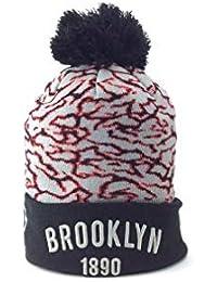 A NEW ERA Brooklyn Hombre Beanie Negro