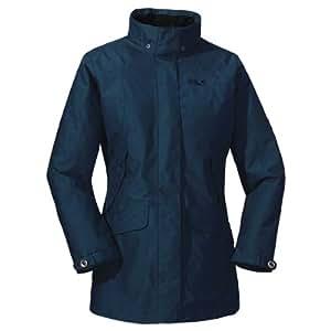 Jack Wolfskin Damen Mantel Queens Coat Women, Night Blue, XS, 1105911-1010001