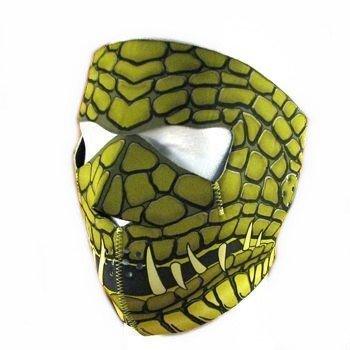 "Cagoule Masque Protection Neoprene ""Reptilian"" - Taille unique réglable - Airsoft - Paintball - Outdoor - Ski - Snow - Surf - Moto - Biker - Quad"