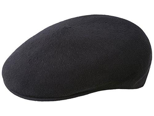 kangol-casquette-plate-bamboo-504-homme-noir-s-54-55