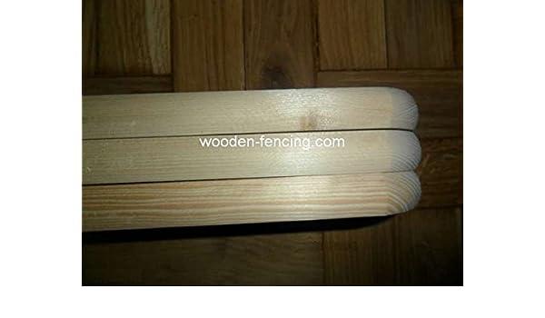100x9x2 Zaunlatten Sibirische Laerche Holzzaun Zaunlatten A Klasse