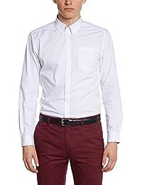 Merc of London 1506301001 - Camisa casual de manga larga para hombre