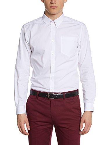 Merc of London Albin - Chemise habillée - Coupe droite - Col boutonné - Manches longues - Homme