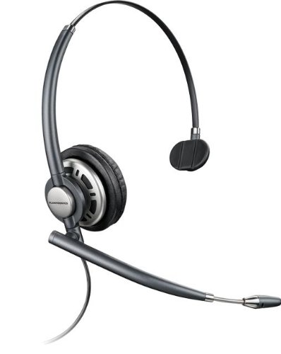 Plantronics Headset EncorePro monaural (HW291N/A) (Plantronics Supra Headset)