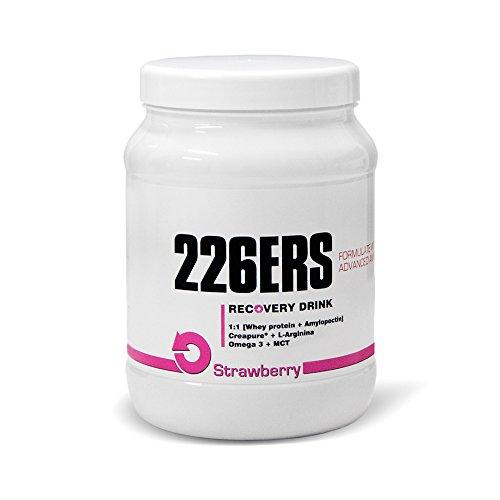 226ERS Recovery Drink Recuperador Muscular, Sabor Fresa - 600 gr