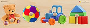 Doron Layeled e72515510Gigante Peg Puzzle- Juguetes
