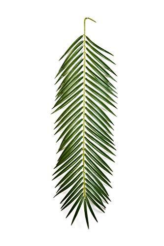 artplants.de Künstlicher Phönix Palmwedel, 90cm - naturgetreuer Kunstwedel - Künstliche Palme