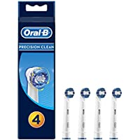 Oral-B Precision Clean Replacement Power Toothbrush Heads 4 counts