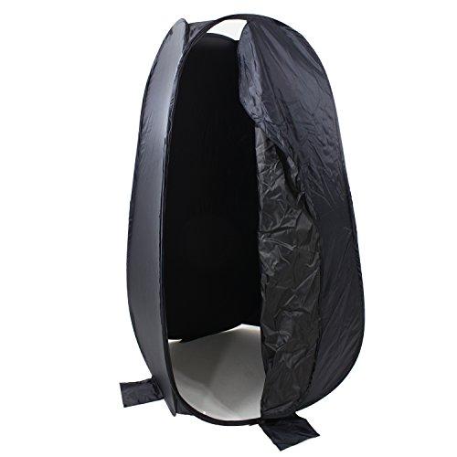 DYNASUN DRESS UP 190cm XXL Pop-Up Umkleidezelt Faltbare Cabin Dressing inkl. Transporttasche für Outdoor Studio-Foto & Video