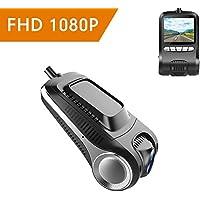 Xwly-Dr Coche Dash CAM Full HD 1080P Sony Cámara 170 ° Granangular Lente Loop