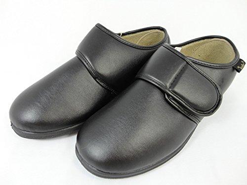 Nuove Da Uomo Dr Keller Nero Marrone Vinile Velcro Vestibilità Larga Comodo In Spugna Foderato Pantofole Da Casa Marrone