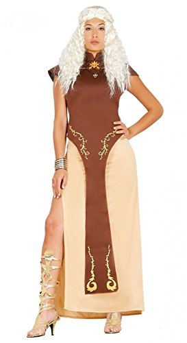 üm Drachen-Königin Daenerys Targaryen Kleid Game of Thrones GOT , Größe:L ()