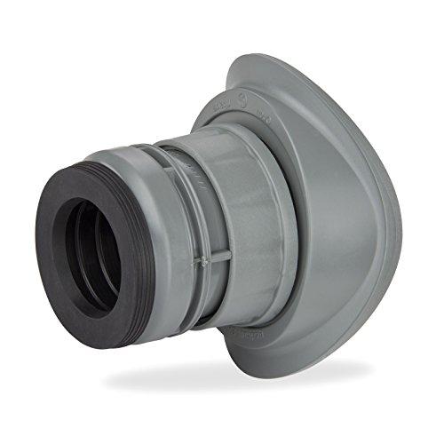 Haas OHA Easy FIX Schraubabzweig DN110/40 HT Rohr Abwasserrohr nachträglich Abzweig Abflussrohr 5001