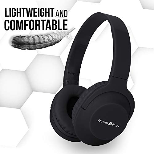 Rhythm&Blues A300 On-Ear Wired Headphones with mic (Black) Image 6