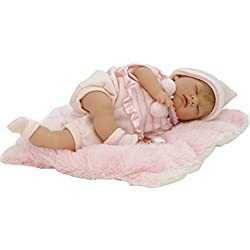 Nines Artesanals d'Onil - Poupée Mon petit bébé Reborn avec les yeux fermés (700)