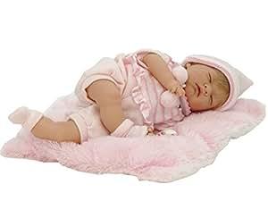 Nines Artesanals d'Onil - Bambolotto Neonato Reborn con occhi chiusi (700)