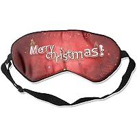 Eye Mask Eyeshade Merry Christmas Image Sleeping Mask Blindfold Eyepatch Adjustable Head Strap preisvergleich bei billige-tabletten.eu