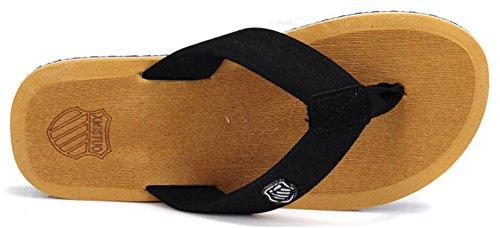 Good Night Uomini classici spiaggia sandalo infradito Giallo