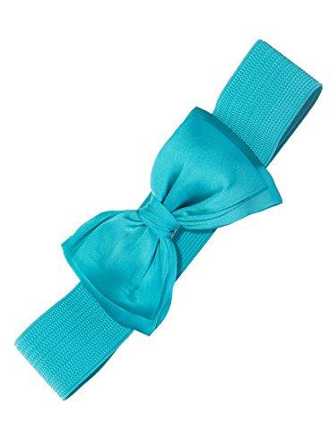 Dancing Days by Banned Stretchgürtel Bella Belt 2220 (Large, teal blue)