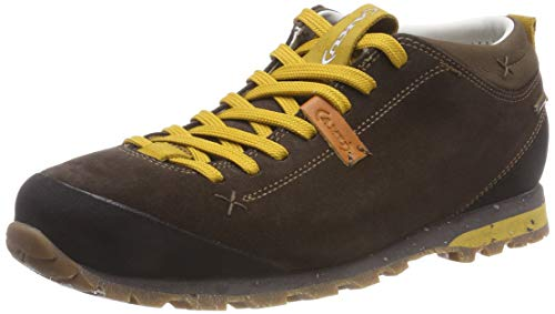 AKU Herren Bellamont 2 Suede GT Trekking- & Wanderhalbschuhe, Braun (Dark Brown/Yellow 305), 45 EU - 2 Dark Brown Schuhe