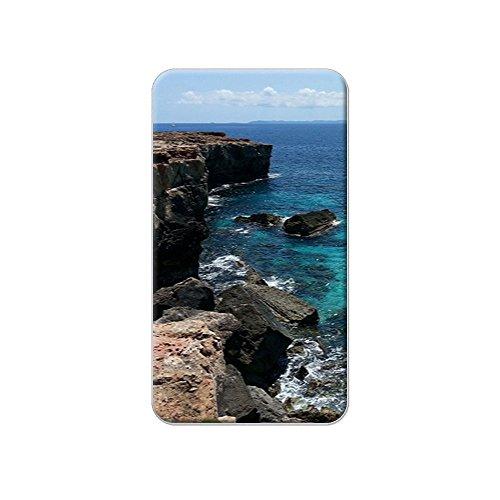 caribee-mallorca-cala-rocky-shore-ocan-bleu-deau-en-mtal-revers-bonnet-pour-homme-sac-main-sac-de-br