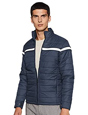 Qube By Fort Collins Men's Bomber Jacket (57505_Airforce_M)