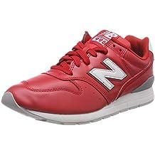 zapatillas new balance hombre rojas