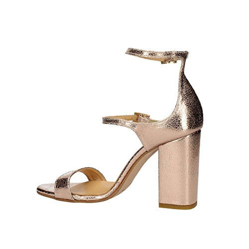 GRACE SHOES 9246 Sandalo tacco Donna Argento